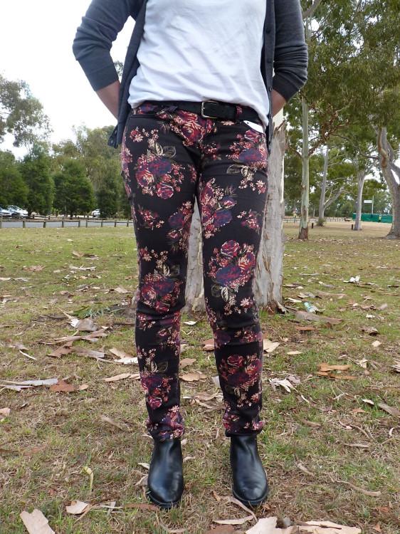 Flower legs!