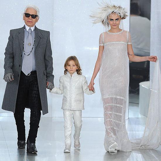 Karl-Lagerfeld-Cara-Delevingne-abito-sposa-2014-Chanel-Haute-Couture