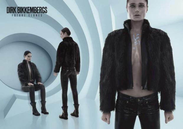 un immagine della nuova campagna Dirk Bikkembergs Autunno/Inverno 14-15