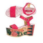 La s s 2015 di lisa corti e la nuova collezione di scarpe for Lisa corti tende