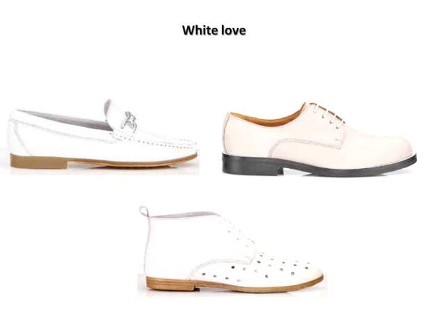 Il look total white by Antica Cuoieria