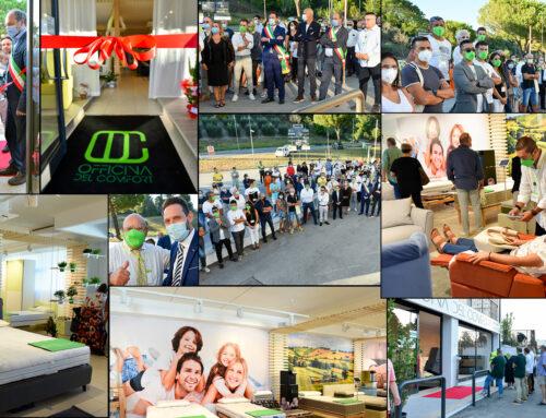 """Inaugurazione """"L'Officina del Comfort"""", la nuova realtà firmata Brasili Comfort – Galleria fotografica online"""